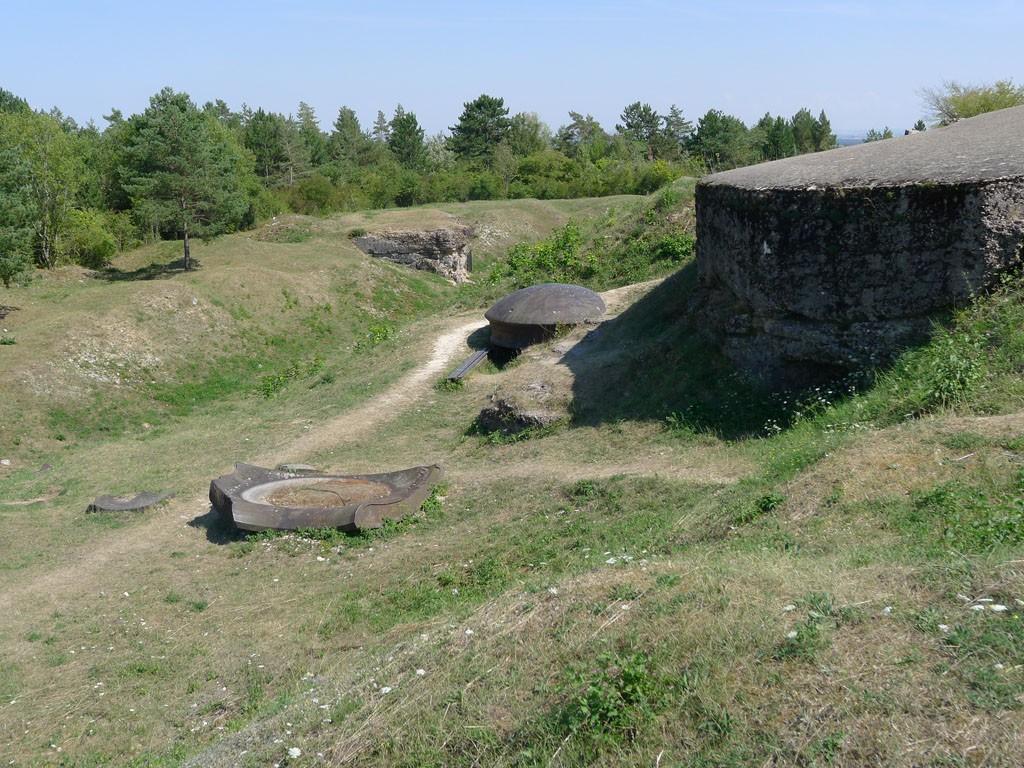 Fort Vaux Geschützturm